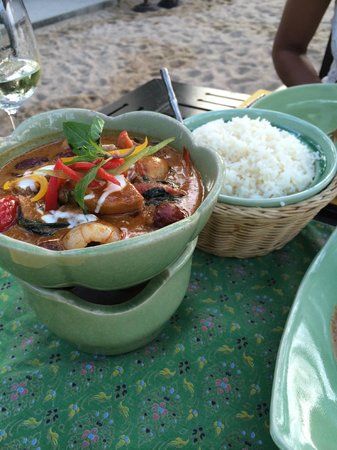 Krua Bophut: duck and rice