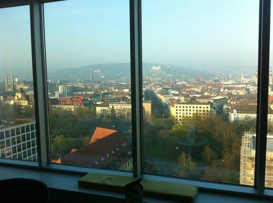 GHOTEL hotel & living Würzburg: Uitzicht GHotel