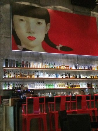 Drink Gallery: painting on the wall