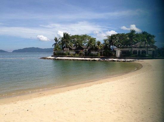 Shangri-La's Tanjung Aru Resort & Spa : ビーチ