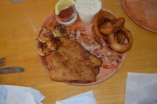 Fish Shack: A combo platter that they should add to menu.