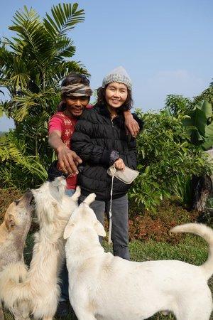 Bamboo Nest de Chiang Rai : nok and noi