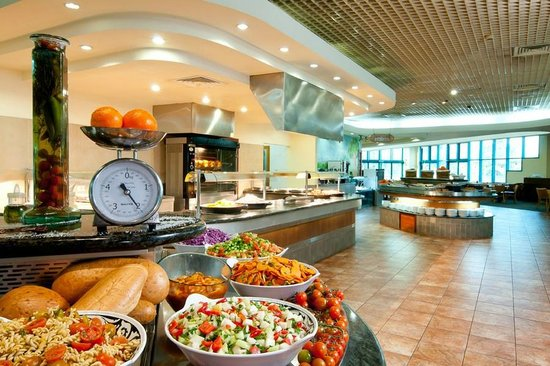 U Sunrise Club Eilat: dining room