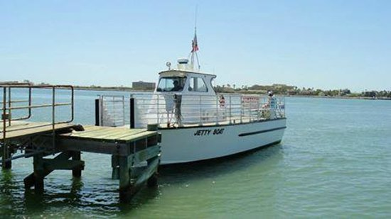 The jetty boat picture of san jose island port aransas for Port aransas jetty fishing report
