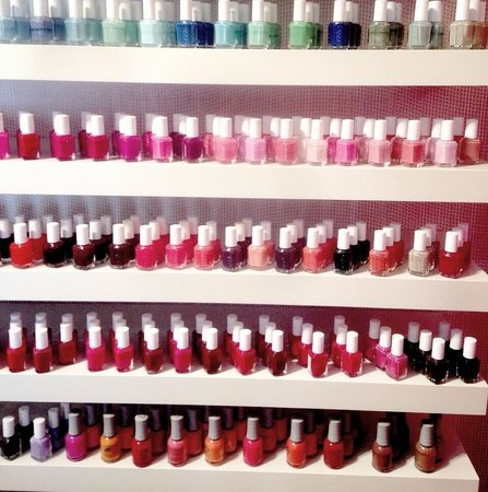 Color Me Spa The Uses Essie Marc Jacob S Nail Polish They Have