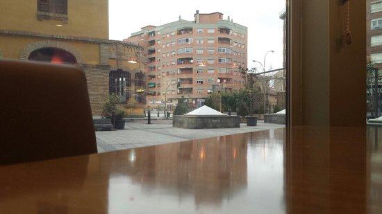 Hotel Castillo de Ayud: Vistas desde el restaurante