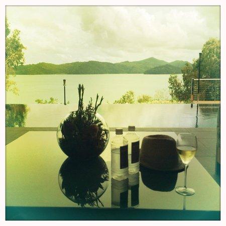 Qualia Resort: Arrival