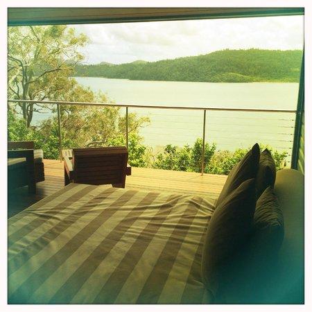 Qualia Resort: External deck