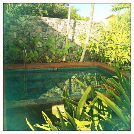 Qualia Resort: Private plunge pool