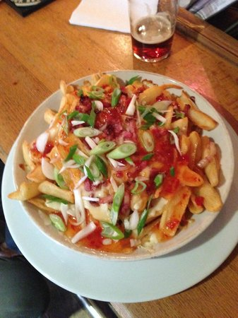 The Office Bar : Sweet chili fries