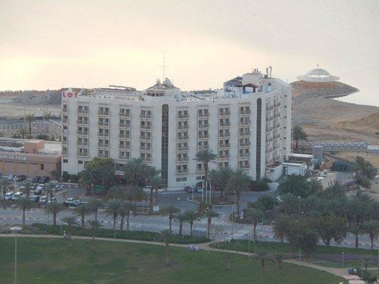 Lot Spa Hotel: Отель с высоты