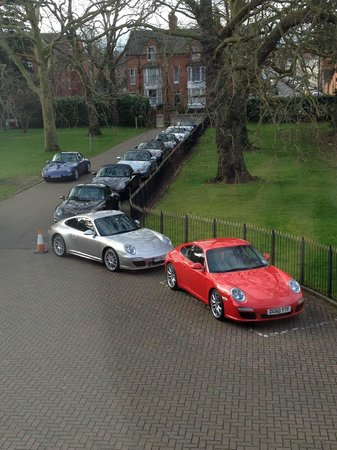 The Stratford, A QHotel: View from 209 Window - porsche owners club meeting