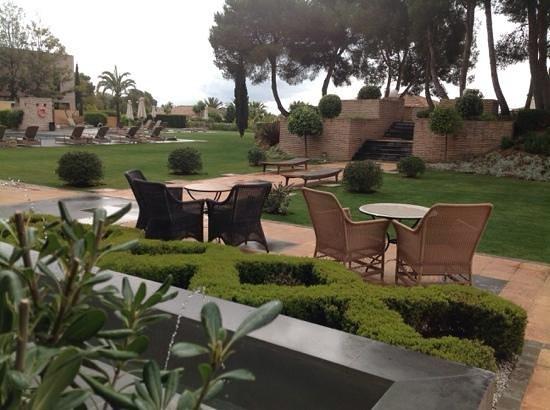Vincci Seleccion Estrella del Mar: view from terrace, just after a rain storm !!!
