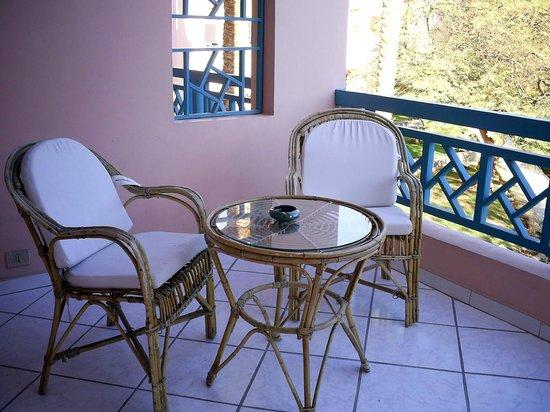 Le Pacha Resort: Балкон в номере