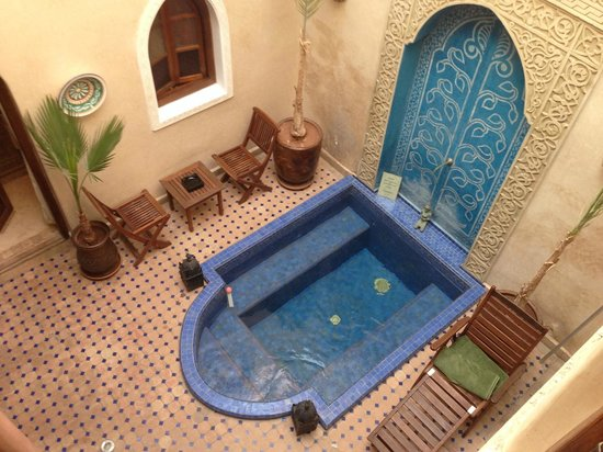 Riad Jonan: Plunge Pool