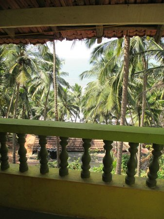 Om Ganesh Guest House: view