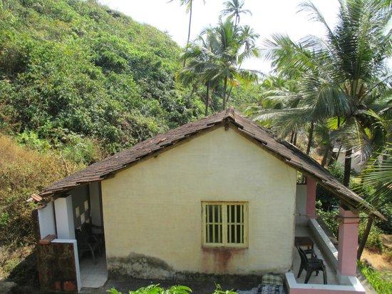 Om Ganesh Guest House: cliffs hut