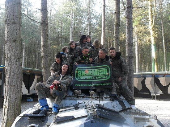 Skirmish Paintball Games Nottingham: 29th March 2014