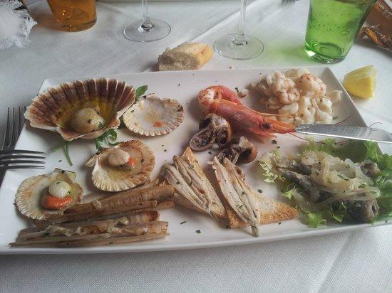 Trattoria Al Mare : l'antipasto misto.....a 25 euro!!