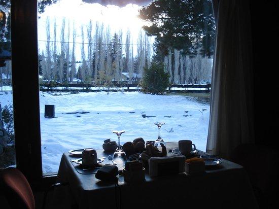 Ibai ko Mendi: desde el comedor, desayuno - agosto 2013