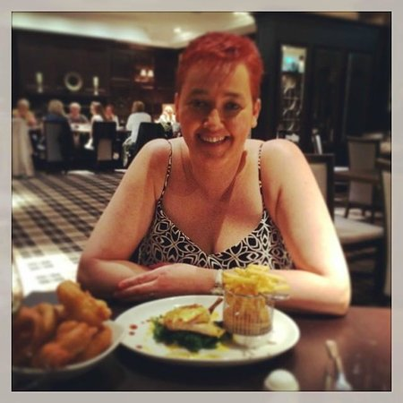 The Vermont Hotel: Dinner with my gorgeous wife