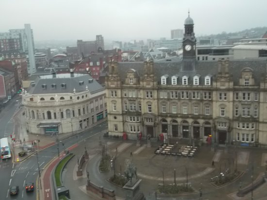 Park Plaza Leeds : View from hotel window