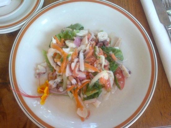 Bonbon Plume: insalata di pesce