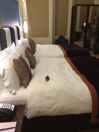 The Midland: Our 2 double beds