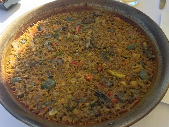 Restaurante Kiko Port: Vegetable paella