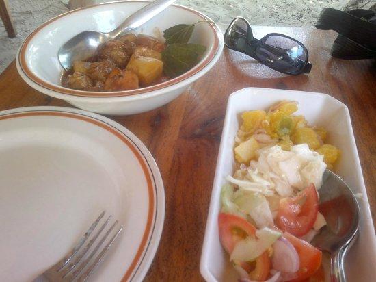 Bonbon Plume: pollo e patate con verdure