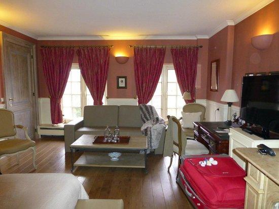 Hotel De Tuilerieen : chambre