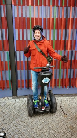 City Segway Tours Munich : Munich City Segway Tour, March 2014