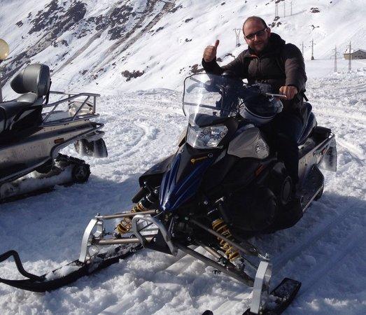 Rifugio Ca San Marco: Gita in motoslitta al passo Ca San Marco