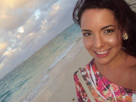 Iberostar Dominicana Hotel: beach selfie