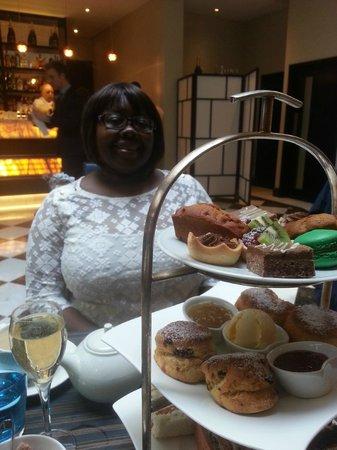 Afternoon Tea at The Montcalm London: Happy birthday Mum xx