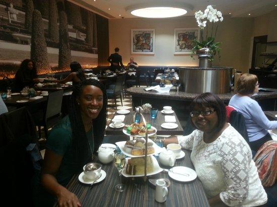 Afternoon Tea at The Montcalm London: Tea up!