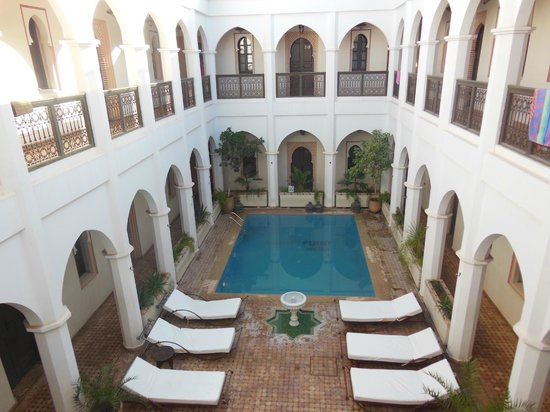 Equity Point Marrakech Hostel: Equity Point Marrakech (common area)