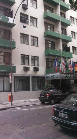 Apa Hotel: Localização priveligiada, apartamentos excelentes, pertinho da Praia de Copacabana.