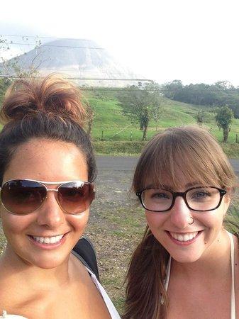 Finca Luna Nueva Lodge: arenal volcano in la fortuna