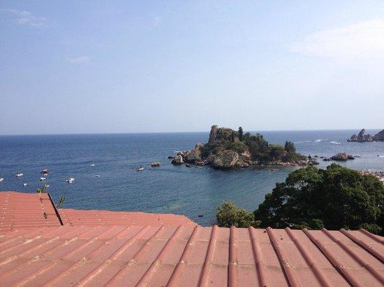 Isola Bella: vista dall'alto