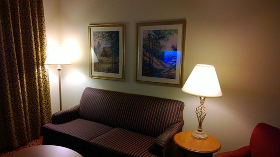 Homewood Suites Harrisburg East-Hershey Area: living room