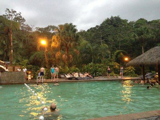 Finca Luna Nueva Lodge: tabacon hot springs