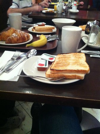 Maldron Hotel Parnell Square : colazione :)