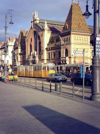 Central Market Hall : mercato di Budapest