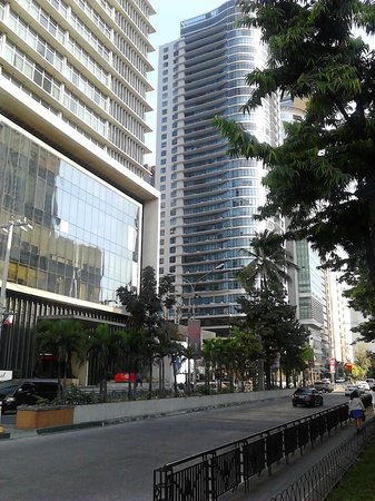 The Malayan Plaza : View from the street