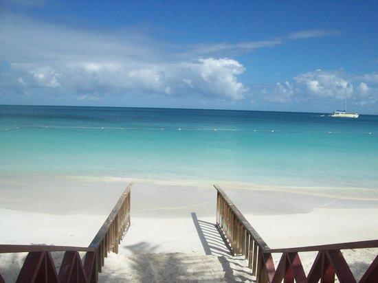 Halcyon Cove by Rex Resorts : petite plage en chemin sur la plage