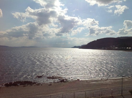 Esplanade Hotel : Sparkling Clyde from our window