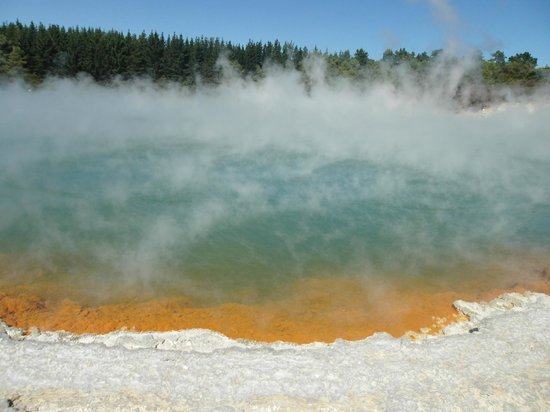 Wai-O-Tapu Thermal Wonderland : Champagne Pool