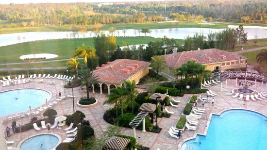 Rosen Shingle Creek: View from our room.