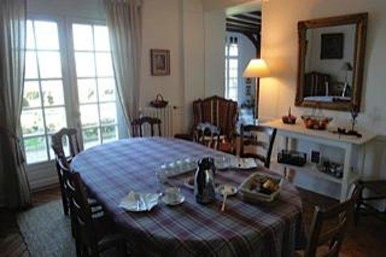 La Canotiere : Dining room